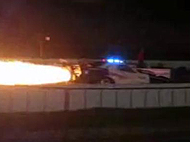 Jet powered Police Car