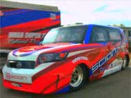 Scion xB Dragster wins U.S. Nationals!
