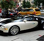 Bugatti Veyron test drive accident
