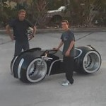 Tron Lightcycle Test Drive