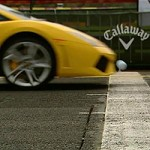 Lamborghini Gallardo vs golf ball