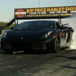 Acceleration of the Twin Turbo Lamborghini Gallardo NERA