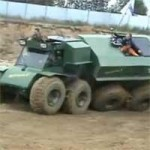 Russians, and their weird homemade off road vehicles!