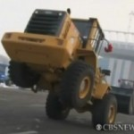 Bulldozers Breakdance in China