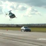 Infiniti IPL G Coupe vs Helicopter 