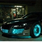 It's not an Audi E-Tron, it's an Audi TRON