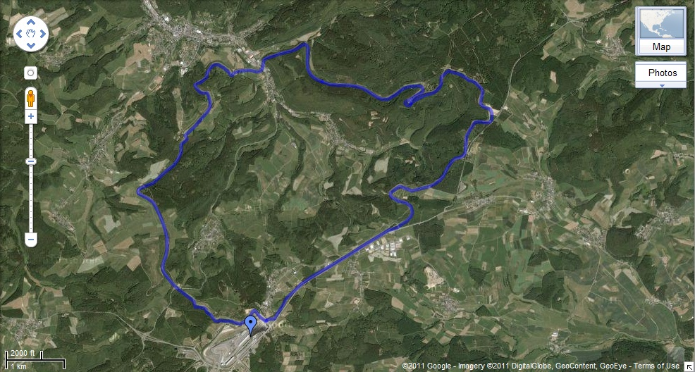 Track Ideas Photothread - Germany map nurburgring