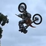 Mark Monea Lands First Ever 360 Front Flip on a Motorcycle!