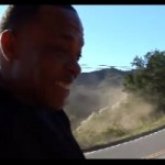 Dr. Dre destroys a Ferrari Modena for a music video
