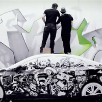 Volvo S60 Art session TimeLapse video