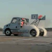 Move over Ken Block: Gymkhana in a Semi Truck