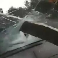 A very close call accident caught on video