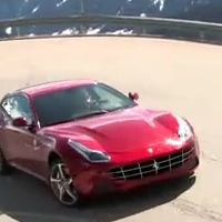 Turn up your speakers: Ferrari FF goes for a ride on Italian mountain roads