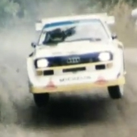 Epic Group B cars rally footage