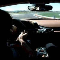 Fernando Alonso flogs a Ferrari 458 Italia at Fiorano