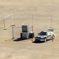 Ken Block Dirt 3 Gymkhana in tilt-shift