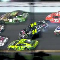 Jeff Gordon Great Save at the 2011 Coke Zero 400