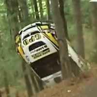 Rally's longest crash ever