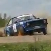 Evit ditch catches multiple cars at Rally Finland