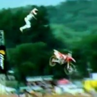 Chad Reed huge crash at Lucas Oil AMA Pro Motocross