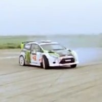 Ken Block presents his new racecar: The Hybrid Function Hoon Vehicle