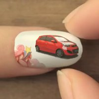 Kia Picanto nail art animation
