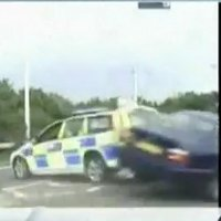 Dramatic crash caught on UK dashcam
