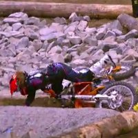 Massive Motocross fail at the X-Games