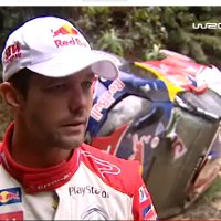 Watch a seven-times world champion crash a Rally car!