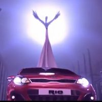 The Birds from the movie Rio present the new Kia Rio