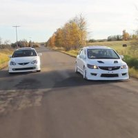 Honda Civic Type R vs Honda Integra Type R