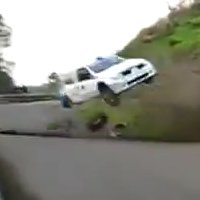 Rally Clio S1600 Massive Crash