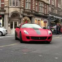 Watch an incredible collection of supercars in the streets of London!
