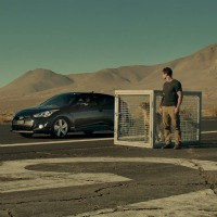 Veloster Turbo faces off against cheetah in Hyundai's Super Bowl ad