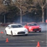 Watch Two Scion FR-S do what they were made for: drifting!