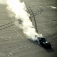 corvette-burnout