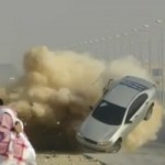Un accident spectaculaire dans une session de drift en Arabie Saoudite