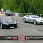 Want Horsepower? 750HP Aston Martin vs 626HP Mercedes SLR vs 560HP Nissan GT-R