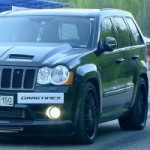 Confrontation titanesque : Jeep Grand Cherokee SRT8 de 1 000 chevaux vs Audi R8 V10, Nissan GT-R et BMW X6M