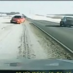 Douchebag Driver Wreaking Havoc on Russian Road Caught on Camera