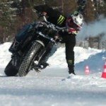 Extreme Motorcycle Snow Drifting: The Best Four Minutes You'll Spend Today!