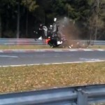 Amateur Racer in Honda CR-V Victim of a Spectucular Crash at the Nürburgring