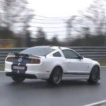 2013 Ford Mustang Shelby GT500 Caught Testing at the Nürburgring