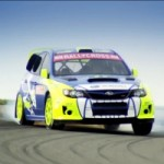 PUMA Celebrates RallyCross Series Sponsorship With Subaru WRX STi Hoonage