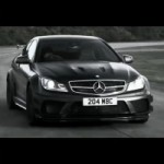 Mercedes-Benz C63 AMG Black Series Makes Dramatic Advertisement Debut