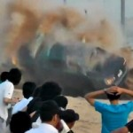 Watch a 2012 Toyota Camry Involved in a Horrific, Deadly Arab Style Drifting Crash (NSFW)