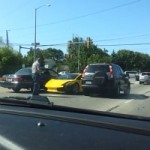 Lamborghini Gallardo Owner Tries to Show Off, Fails Miserably