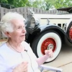 This 101 Year Old Lady is Still Driving her Packard and Making Oil Changes!