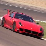 Watch and Hear the Ferrari 599XX EVO Having Some Track Fun