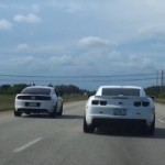 Watch a Ford Mustang Boss 302 Teach a Chevrolet Camaro ZL1 a Lesson